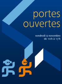 Journée portes ouvertes 2012 :<br> l'affiche de l'événement.