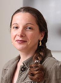 Séverine Dubosc, responsable des Ressources Humaines de l'ESPCI ParisTech