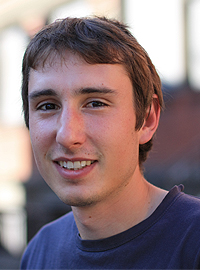 Guillaume Dupeux, doctorant - PhD student Crédits : ESPCI ParisTech