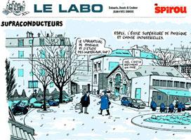 Spirou - Le labo Crédits : Jean-Yves Duhoo - Spirou
